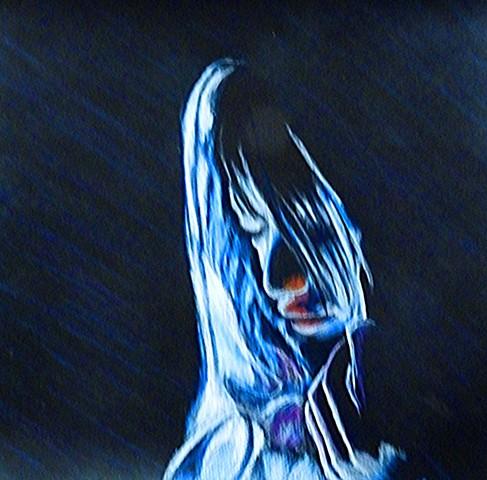 She Hid Inside Her Veil