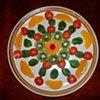 Organic Food Mandala