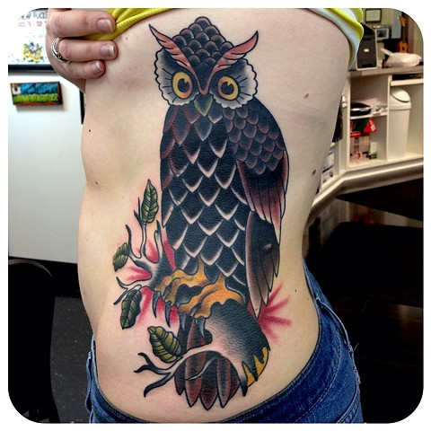 Sailor Jerry Owl Coverup