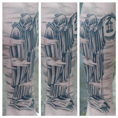 led zeppelin stairway to heaven tattoo by shawn patton