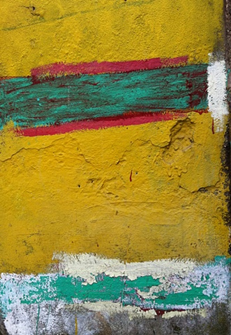 study in yellow red and green