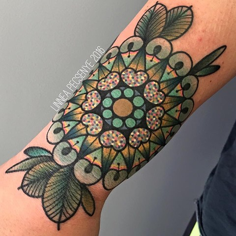 Sparkly tattoo mandala tattoo linnea tattoos asheville tattoo chicago tattoo