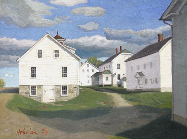 New England Shaker village.