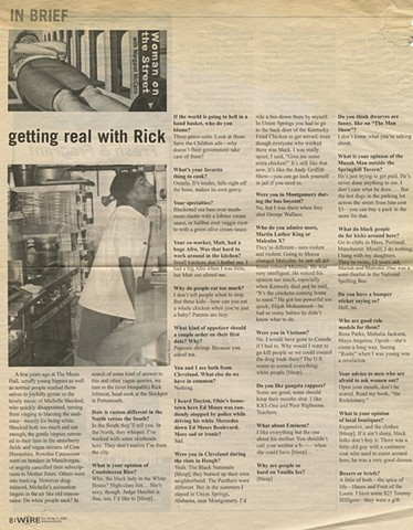 """Getting Real with Rick"""