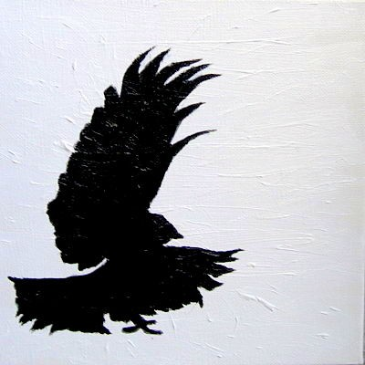 Crow Unites Black and White
