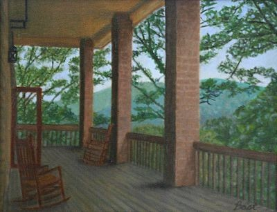 Blue Ridge Mountains, Wildacres, Writers Workshop