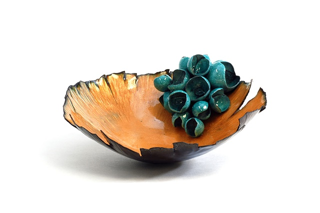 enameled bowl