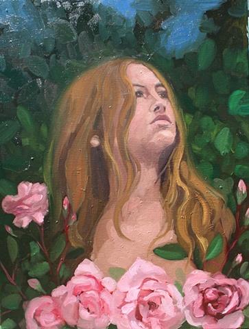 Midnight in the Rose Garden