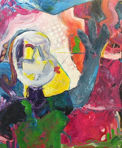 YVR, YVRART, Painting, abstraction, lyrical abstraction, expressionism, neoexpressionism, abstract expressionsism, Natalie Reynolds, artist, colour, color, acrylics, canvas, fine art, pop art, YVR, Vancouver BC Canada