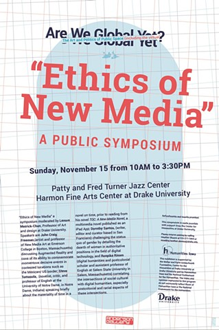 SUNDAY, NOVEMBER 15, 2015 - ETHICS OF NEW MEDIA