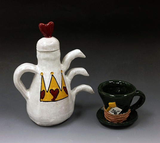 Introduction to Ceramics: Food Specific Serving Ware: Mad Hatter Teapot