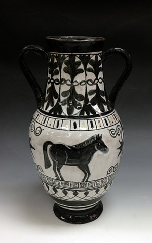 Introduction to Ceramics: Historical/Contemporary Vessel: Greek Reference