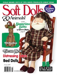 Soft Dolls & Animals Magazine January 2009