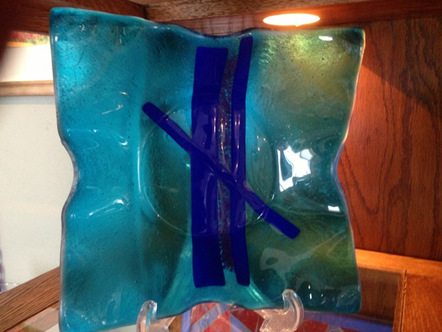 Fused Glass for your table or your gallery