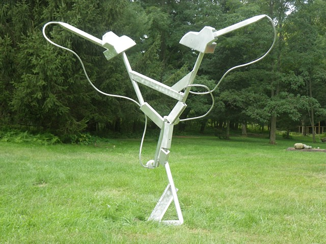 Sculpture, Art, Aluminum Sculpture, Outdoor Sculpture, Public Art, Public Sculpture, Metal Art, Metal Sculpture, Cranes