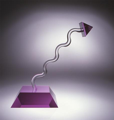 lead crystal sculpture