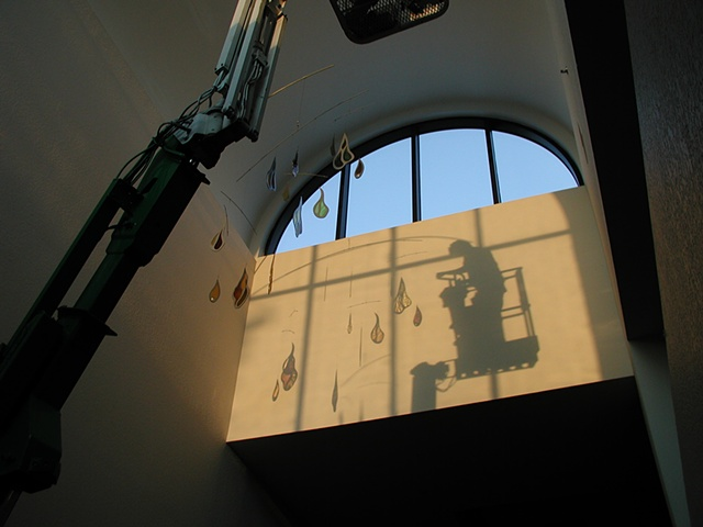click to zoom/unzoom    Installation at St. Paul's, collaboration with J.Piercey Studios, Orlando, Fl.