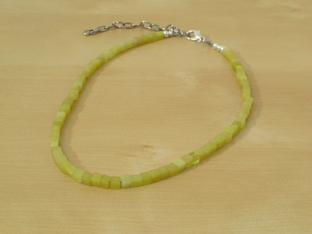 "Olive ""New"" Jade Serpentine Necklace"