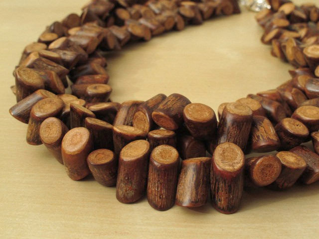 Banghaw Wood Necklace-3 Strands