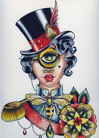 The Golden Monocle