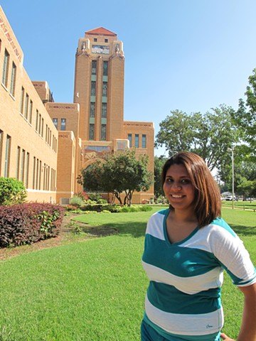 Wichita, Kansas: Carolina Hernandez, DREAMER, undocumented and unafraid.