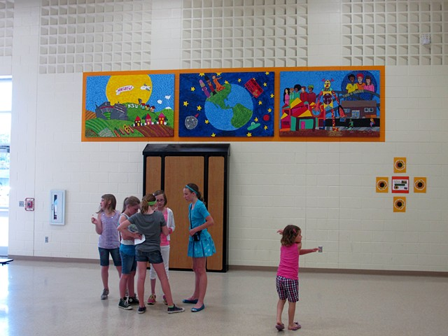 Northview Elementary Modular Mural Project