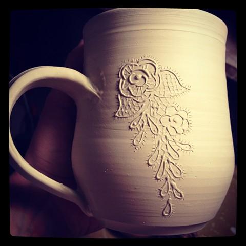 Mug in progress