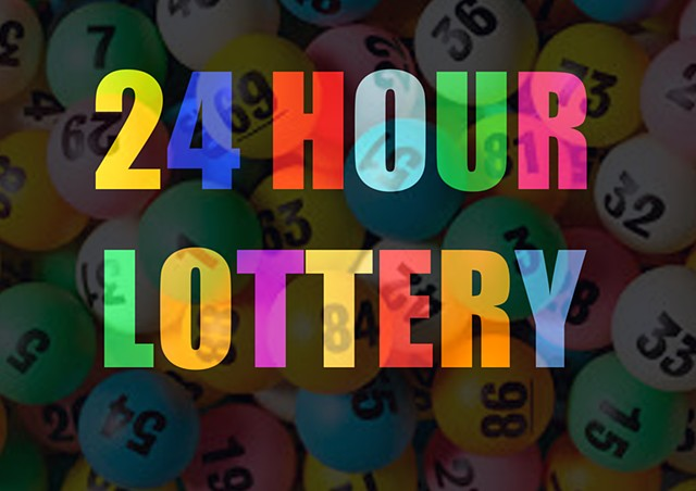 24 HOUR LOTTERY Nightwatch Festival, The Junction Cambridge 2014