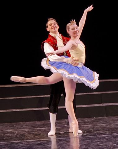 Sleeping Beauty-Prince Desire and Princess Aurora