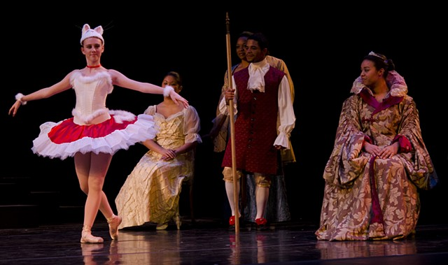 Sleeping Beauty-The White Cat and Court
