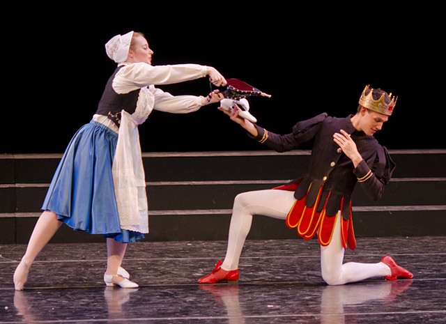 Sleeping Beauty- Cinderella and Prince Fortune