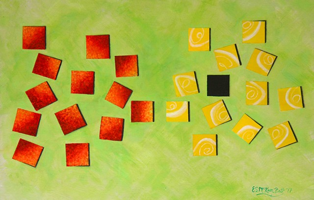 science, physics, art, painting, einstein, science art, art science, sci-art, sciart, abstract, mass, forces, formula