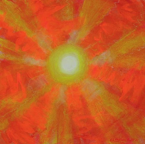 sun, sol, solar, solar flares, solar system, astronomy, science, universe, galaxy, cosmic, stars, space, space art, art, painting, art science, science art, sci-art, fusion art, physics art, abstract art