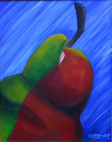contemporary abstract art acrylic painting still life modern art