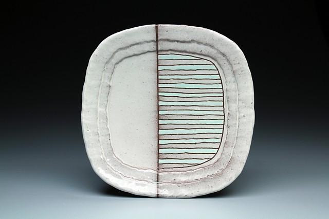 """""""Striped Fade Plate"""""""