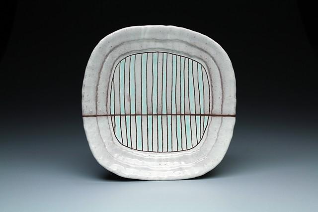 """Striped Plate"""