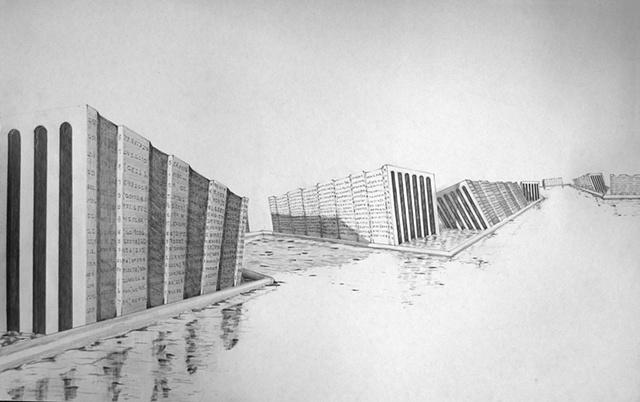drawing, pencil, glasgow, 2011, Shelton Walker