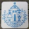 Letterpress Wedding Save The Dates - Dutch Love