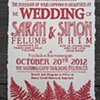 Letterpress Wedding Invitations - In the Woods (Deckled Edges)