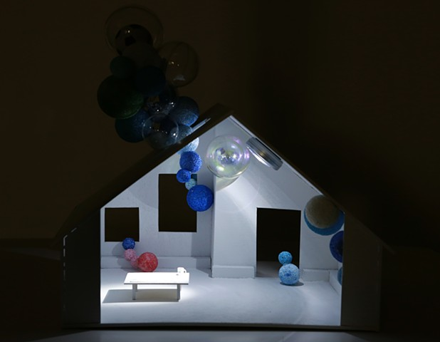 dollhouse play -blue