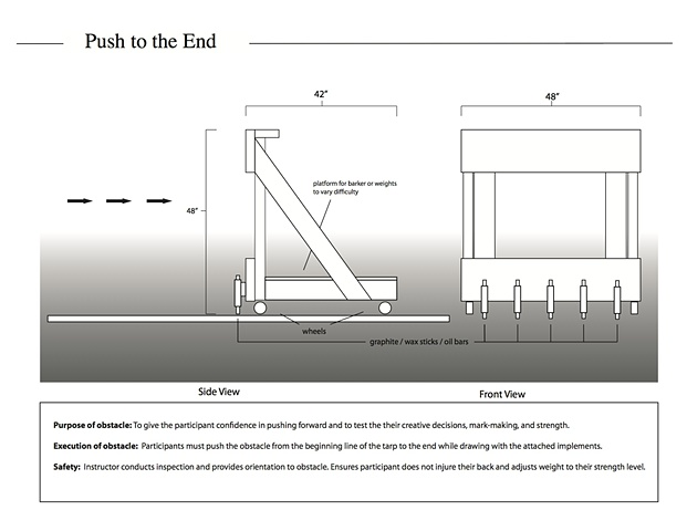 Push to the End obstacle design