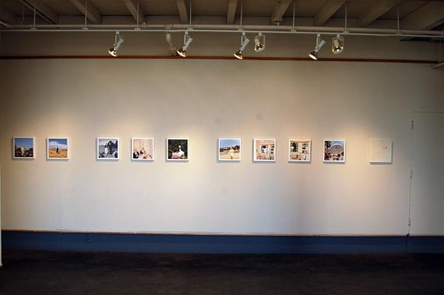 Installation at SF MOMA Artist Gallery Jan 09