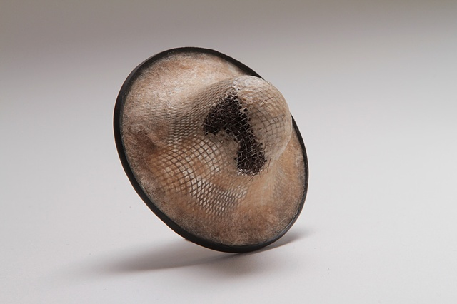 Subsurface, brooch by Sara Owens