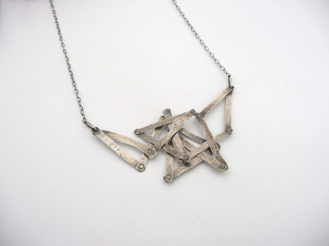 Articulated Necklace by Sara Owens