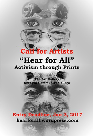 "Curatorial Project, ""Hear for All _Activism through Prints"""