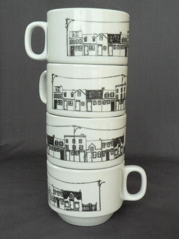Stackable Mugs - North End Halifax