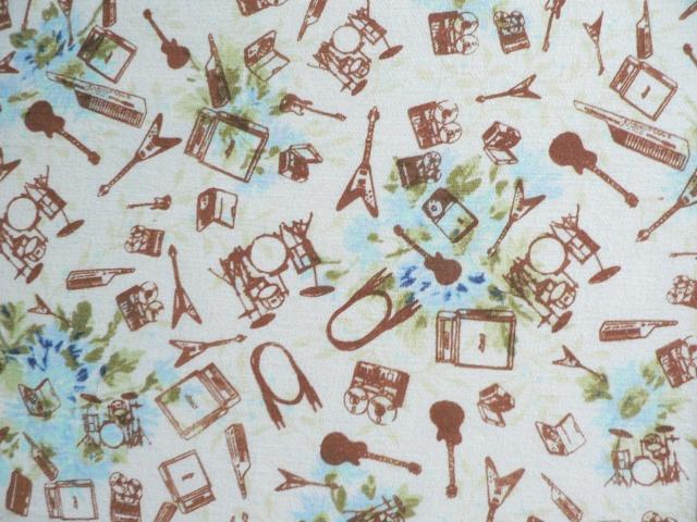 Fabric - Recording Artist Pattern