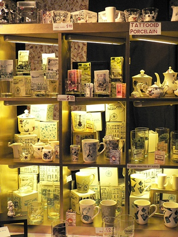 Porcelain and Glass - Display