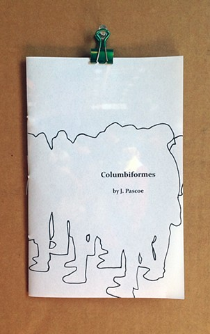 Columbiformes, zine, artist book, photographs, silkscreen, xerography