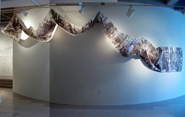 Location In Space - You Me We, Jenn Pascoe, Vandyke brown, mulberry paper